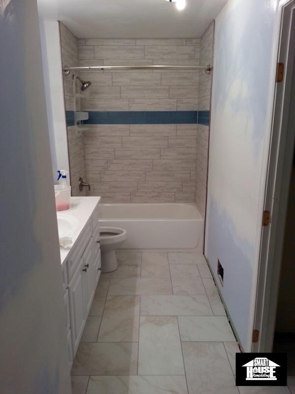 Bathroom remodeling in Woodbridge,VA - after