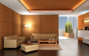 3 tone living room